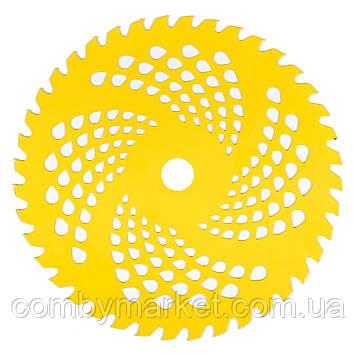 Нож к мотокосе 40-зубчатый (желтый)