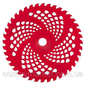 Нож к мотокосе 40-зубчатый (красный)