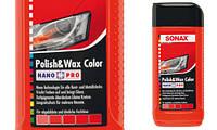 Полироль с воском для красного автомобиля 250 мл SONAX NanoPro 296141