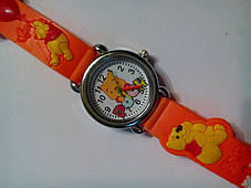 Часы наручные детские Winnie the Pooh оранжевые, фото 3