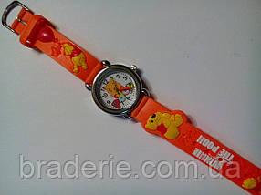 Часы наручные детские Winnie the Pooh оранжевые, фото 2
