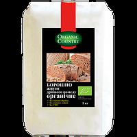 Мука ржаная мелкого помола органическая, Украина, 1 кг, ORGANIC COUNTRY