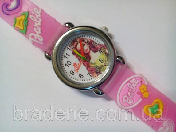 Часы наручные детские Barbie розовые, фото 2