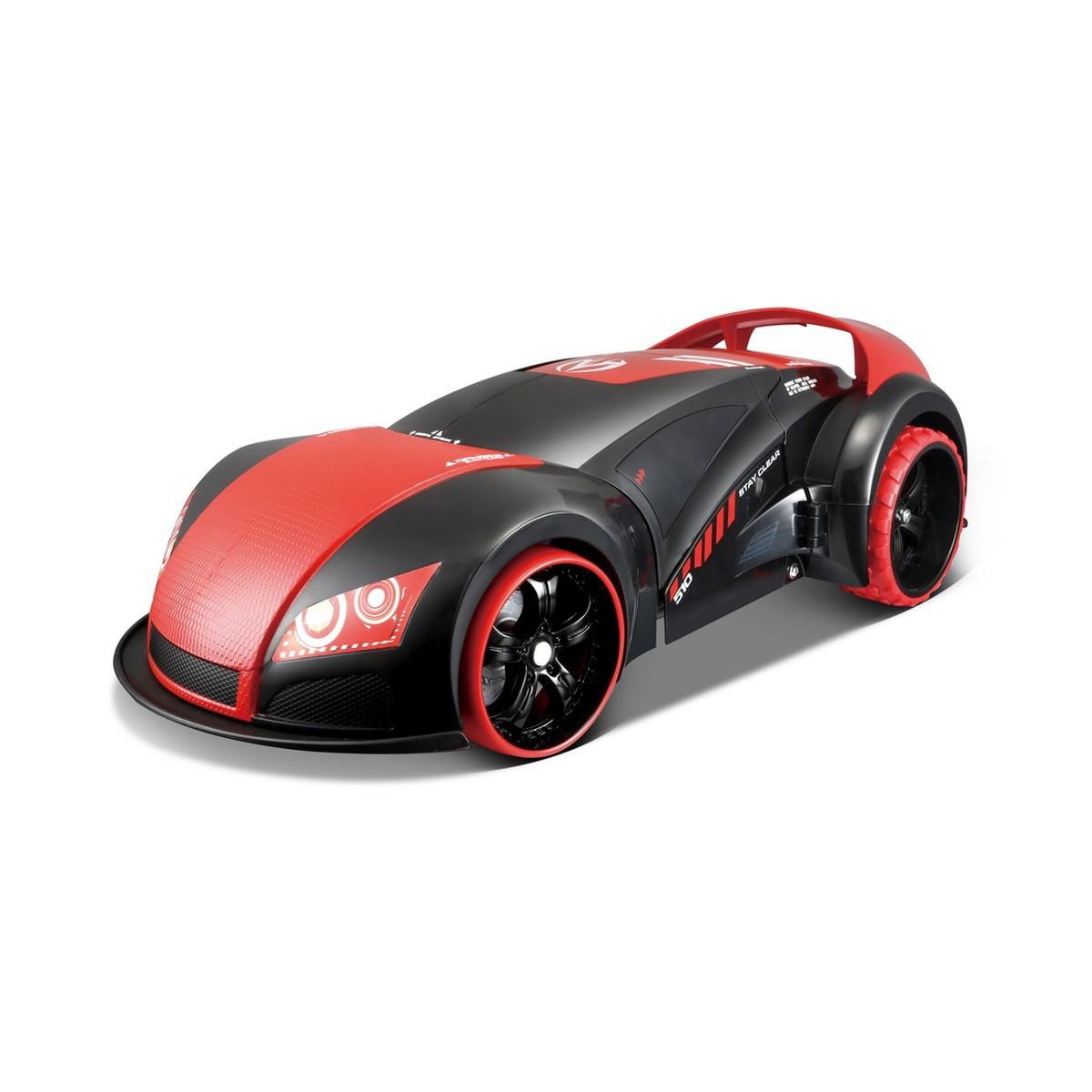 Автомодель - трансформер  на р/у Street Troopers Project 66 чёрно-красный