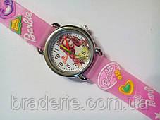 Часы наручные детские Barbie розовые, фото 3