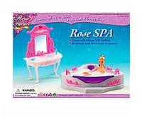 Мебель Gloria для кукол 2613 Ванная комната