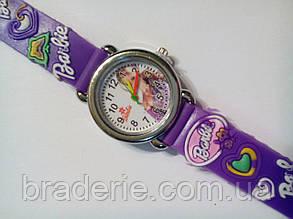 Часы наручные детские Barbie фиолетовые, фото 2