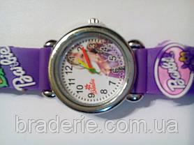 Часы наручные детские Barbie фиолетовые, фото 3