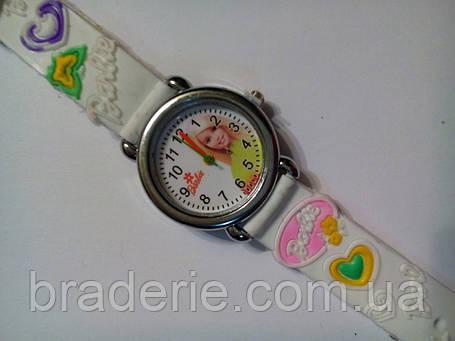 Часы наручные детские Barbie белые, фото 2