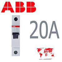 Авт. выкл. ABB 1-полюс 20A SH 201-B