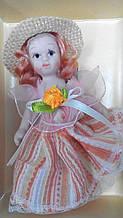Порцелянова лялька Марія висота 10 см в подарунковій коробці