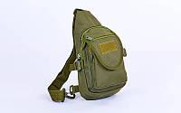 Рюкзак  тактика патрульный  (30х16х8см) олива