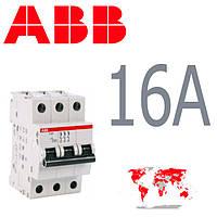 Авт. выкл. ABB 3-полюса 16A SH 203-B