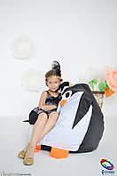 Детское кресло мешок груша Пингвин 100*75 см