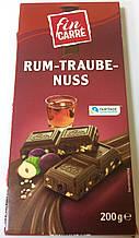 Шоколад Fin Carre Rum Traube Nuss молочный изюм+ром+орех 200 г