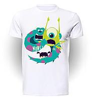 Футболка GeekLand Корпорация Монстров Monsters Inc Trio MI.01.03