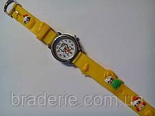 Часы наручные детские Kitty желтые, фото 2