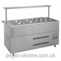 Прилавок холодильный КИЙ-В ПХ-1500 Классик, фото 1