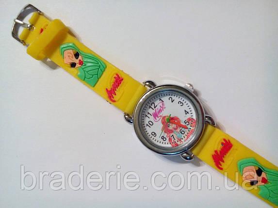 Часы наручные детские Winx желтые, фото 2