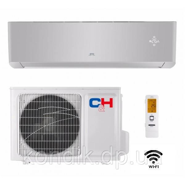Кондиционер Cooper&Hunter SUPREME (Silver) CH-S24FTXAM2S-SC Wi-Fi инвертор