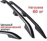 Рейлинги на Nissan Qashqai (2006-2014) металлические наконечники