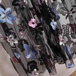 Платье  сеточкой на подкладке, фото 2