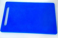 Доска разделочная пластиковая разных цветов 430*270*12 мм (шт)