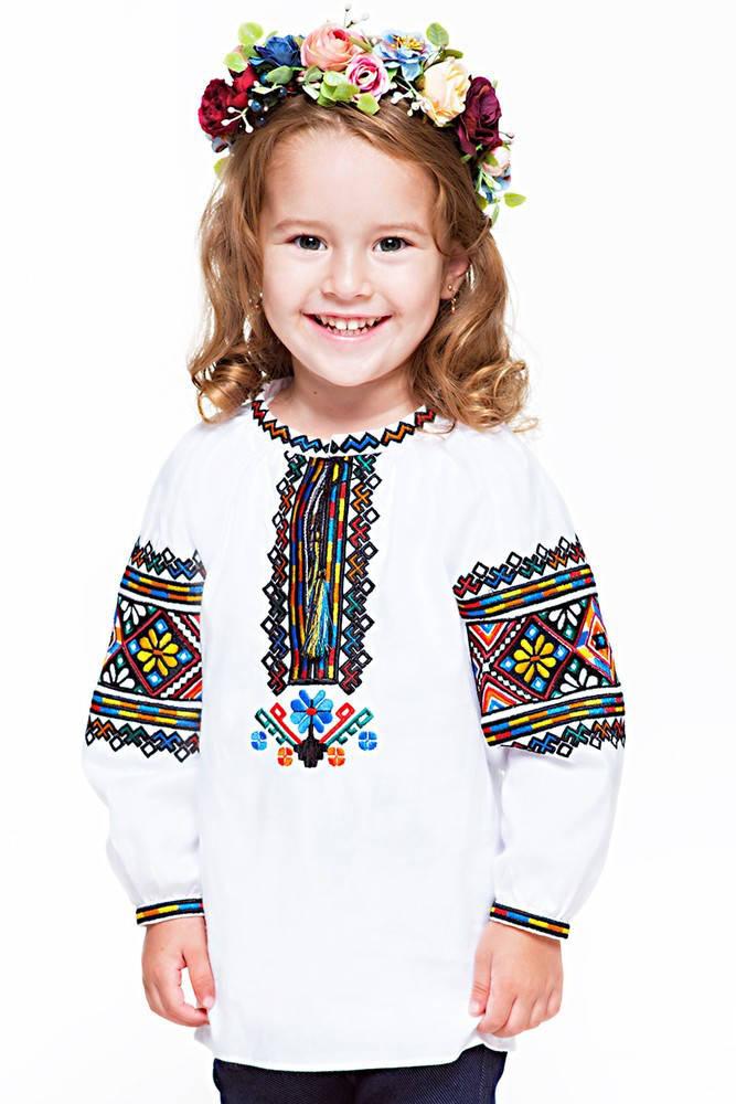 """Дитяча вишиванка """"Гуцульська"""""""