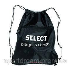 Мешок для обуви черный Select Sportsbag II 8198300111