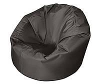 Черное большое кресло мешок из ткани Оксфорд