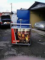 Ролл бар в комплекте с пивным оборудованием для продажи пива,кваса, лимонада Б У