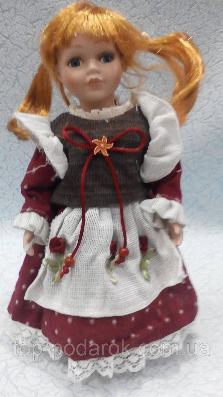 Фарфоровая кукла декоративная Арина высота 30 см