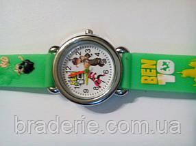Часы наручные детские Ben-10 зеленые, фото 3