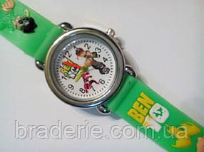 Часы наручные детские Ben-10 зеленые, фото 2