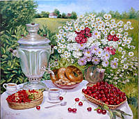 «Летний денек» картина маслом