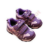 Кроссовки для девочки на липучках