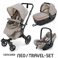 Коляска 3 в 1 Concord Neo Travel Set Cool Beige, бежевый