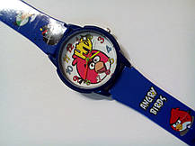 Часы наручные детские Angry birds синие, фото 2