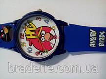 Часы наручные детские Angry birds синие, фото 3