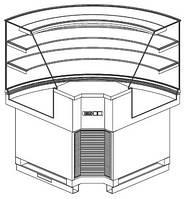 Витрина холодильная ISA PBS01AE901L (RS)