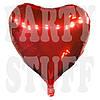 Фольгированный шар Сердце красное, 61см