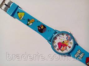 Часы наручные детские Angry birds голубые, фото 3