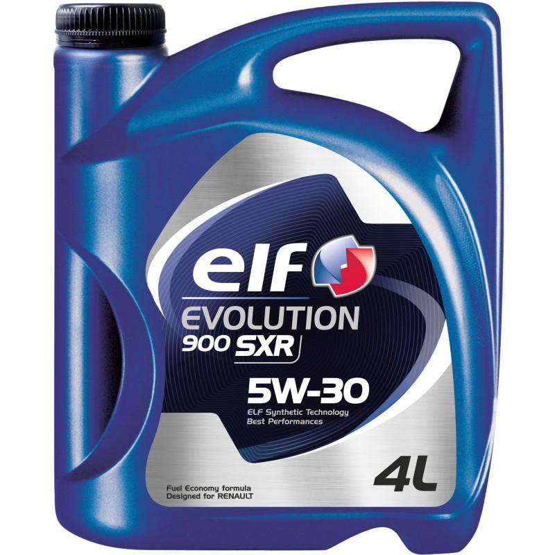 Масло моторное Elf EVOL 900 SXR  5w-30  4л/3.41кг SL/CF  A5/B5