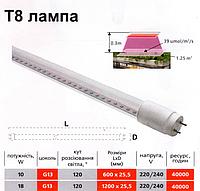 Фито-лампа LED T8 120см
