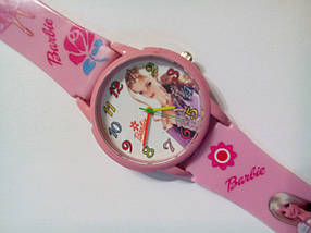 Часы наручные детские Barbie-02 розовые, фото 3