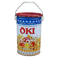 Олія кокосова для попкорну OKI жовте