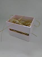 Декоративный ящик, розовый, S