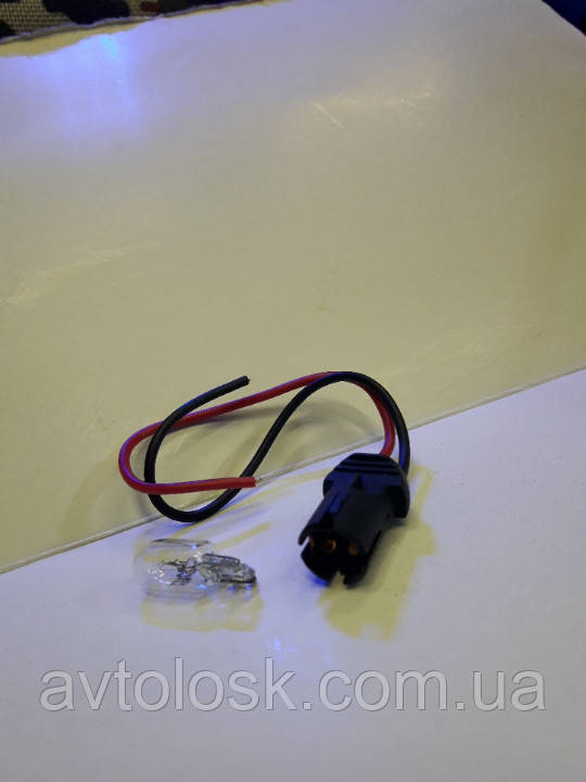 Патрон габаритної лампи (безцокольный w5w).Ланос,Нексія іномарки.