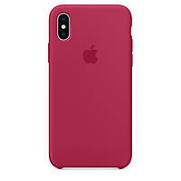 Apple iPhone X Leather Case Rose Red (copy)