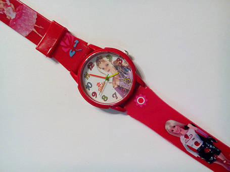 Часы наручные детские Barbie-02 красные, фото 2